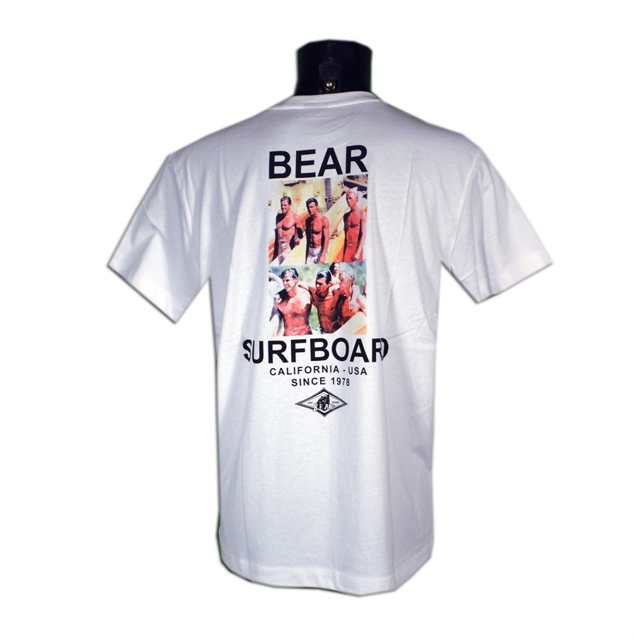 Bear - T shirt  uomo - Photo Over
